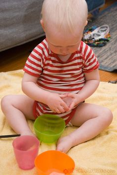 Sensory Play - Keep it Simple with Ice Blocks - picklebums.com