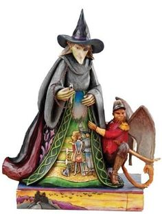 jim shore wizard of oz | Disney Jim Shore Wizard of Oz Wicked Witch Collectable Figurine