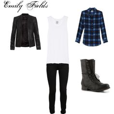 """Emily Fields"" by rebecca-fitzpatrick on Polyvore"