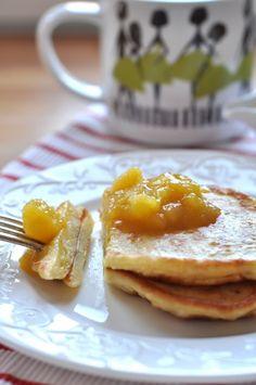 Bananowe placuszki- najlepsze na śniadanie!