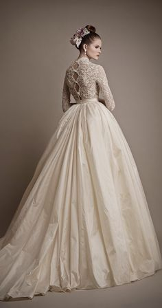 Vestido de noiva inverno 2015/2016 -Portal Tudo Aqui