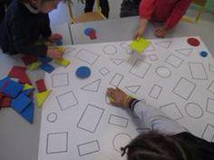 Découvrir les formes Child Development Activities, Toddler Learning Activities, Infant Activities, Maths Eyfs, Montessori Math, Kindergarten Activities, Kids Education, Cycle 1, Join