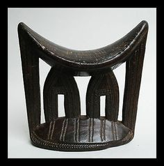 A Delicate and Intricately Engraved Headrest from Kambatta Tribe of Ethiopia | eBay