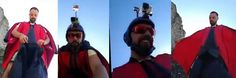 'Today you fly with me': Italian wingsuit pilot broadcasts his own death live on Facebook