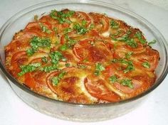 Gratin de riz aux tomates et Mozzarella