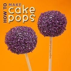 Come fare Cake Pops - sugarkissed.net
