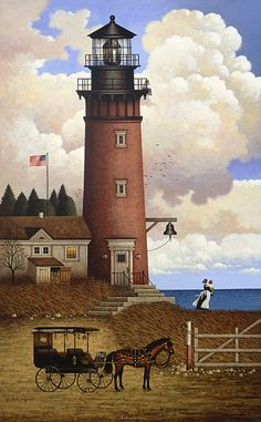 Daddy's Coming Home by Charles Wysocki