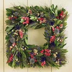 a square wreath is different