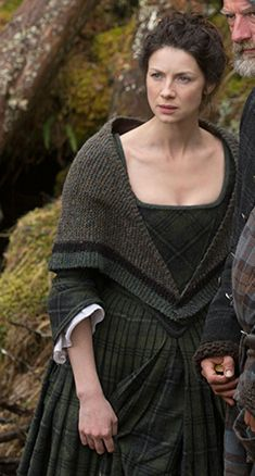 "More Knitwear from the show ""Outlander."" So classic. Make one out of Imperial Ranch Columbia, Manos Maxima, The Fibre Company Acadia (doubled), Local Pastures (doubled), or Twirl Petals (doubled). See our 'Outlander Yarns' collection page."