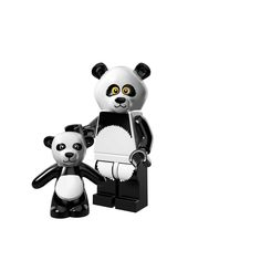 Panda Suit Guy The LEGO Movie Minifigures All Minifigure packets will be opened to guarantee the correct Minifigure – Comes complete with opened packets leaflet and accessories