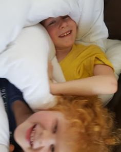 The Brick Castle: Building A Duvet Fort with Sleepy People Anti Allergy Washable Bedding...