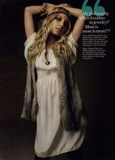 Nicole Richie for Glamour Editorial How I Get Dressed, September 2008. Credit: MyFDB