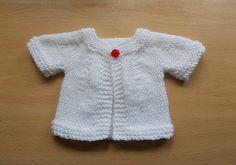 DK AG size Ravelry: Teddy or Baby Doll Cute Cardigan Jacket pattern by marianna…