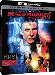 Blade Runner - 4K Final Cut Cover USA
