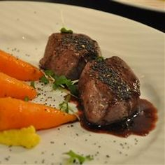 Venison with Blackberry Wine Sauce Recipe