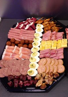 Snack Platter Meat Platter Food Platters Cheese Platters Party Trays Party Buffet Party Platters Meat And Cheese Tray Meat Trays Snack Platter, Meat Platter, Party Snacks, Appetizers For Party, Yummy Snacks, Yummy Food, Meat And Cheese Tray, Catering Menu, Food Platters
