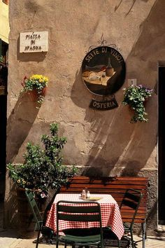 Tuscan Cafe Photograph by Michael Hudson - Tuscan Cafe Fine Art Prints and Posters for Sale Italian Cafe, Italian Style, Italian Bistro, Rome Spanish Steps, Pizzeria Trattoria, Michael Hudson, Voyage Rome, Emilia Romagna, Under The Tuscan Sun
