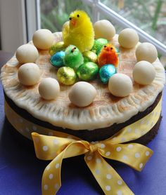 My Easter Simnel Cake 2012 Simnel Cake, New Baby Products, Easter, Breakfast, Sweet, Desserts, Food, Morning Coffee, Candy