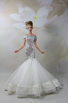 Handmade Outfit FOR Fashion Royalty FR2 Barbie Model Muse Doll BY Monaeglow