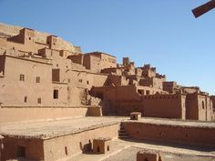 AFRICA - Aït Benhaddou is a 'fortified city', or ksar, along the former caravan route between the Sahara and Marrakech in present-day MOROCCO.