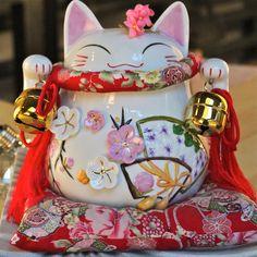 Chat heureux.( Art District, Gallerie 798.Photo personnelle, prise à Beijing, en Déc 2011.N.M.J.)