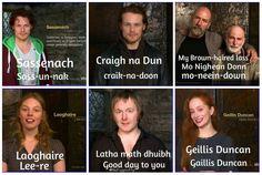 """Outlander """"speak"""""""