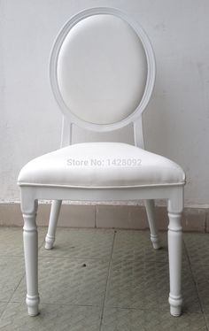 white upholstered aluminum hotel wedding chair LQ-L9999