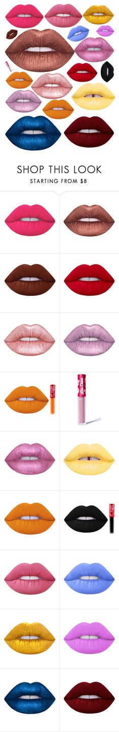 """""""Dollskin👄"""" by lilyalicewalker ❤ liked on Polyvore featuring beauty and Lime Crime"""