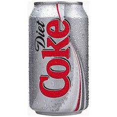 Diet Coke!  Not Diet Pepsi, Diet Dr. Pepper......  DIET COKE!!!!!!