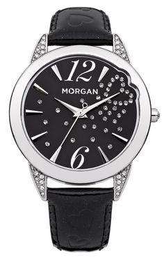 Montre MORGAN pour femme - Type de mouvement Quartz - Affichage analogique  - Couleur du cadran Noir - Boîtier en Métal - Diamètre Boîtier 38 mm -  Etanchéité ... 9c7d5c95950