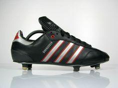 sports shoes 7fcb2 4ee68 vintage ADIDAS SARAGOSSA Football Boots size UK 7.5 rare OG 80s made in  Austria   eBay