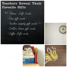 Teachers reveal their favorite teacher gifts