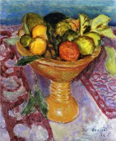 Pierre Bonnard Fruit Bowl