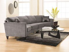 This contemporary sofa is equal parts class and comfort. Featuring thick cushioning and velvety fabric upholstery this piece is ideal for modern homes as well as transitional spaces; add a pop of color using a throw blanket or a few pillows and you're all set!  #decorativetouch #interiordesign #design #designtips #interiordesigntips #roomstyle #roomstyling #decor #homedecor #homestyle #homedesign #room #instaroom #inspiration #home #homeinspiration #homespiration #furniture #luxury…