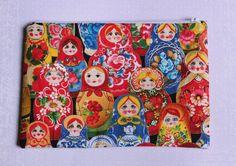 Sur commande Grande Trousse pour l'école motif poupées russes : Ecole et loisirs par delphineif