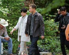 #Ouat cast filming season 5 (july 14)