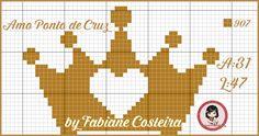 CORONA Cross Stitch Music, Cross Stitch Owl, Cross Stitch Alphabet, Cross Stitching, Cross Stitch Patterns, Crochet Chart, Filet Crochet, Canvas Template, Graph Paper Art