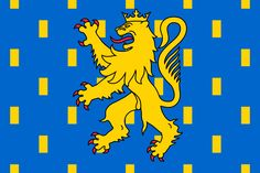 Flag of Burgundy Framed Prints, Canvas Prints, Art Prints, Family Shield, National Symbols, Family Crest, Ferrari Logo, France, Graphic Art