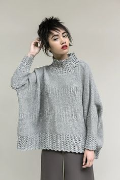 New in store: Rowan Loves…Creative Focus and Pure Wool Worsted Sweater Knitting Patterns, Knitted Poncho, Knitting Designs, Crochet Woman, Knit Crochet, Rowan Yarn, Knitting Books, Knitwear Fashion, How To Purl Knit