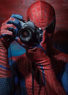 Peter Parker as Spiderman