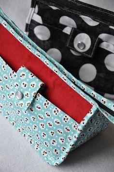 Sewing: Make-Up Bag - PDF Sewing Pattern & Tutor
