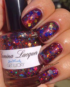 My Nail Polish Obsession: Lumina Lacquer Spam!