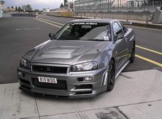 Nissan R34 Skyline GT-R Z-Spec.    Nissan purchases 20 used GTR V-Spec II's then the entire car is essentially rebuilt by hand, with the car being completely stripped and re-built from the ground up.