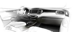 New Kia Sorento Interior Design Revealed in First Teaser Sketch - autoevolution