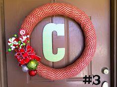 Marci Coombs: Christmas Wreaths.