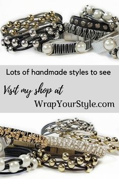 Wrap Your Style leather bracelets are offered at wholesale prices to boutiques. You can find my shop at wrapyourstyle.faire.com or contact me on my website. Leather Bracelet Tutorial, Leather Bracelets, Fashion Bracelets, Fashion Jewelry, Boho Fashion, Wholesale Jewelry, Buy Wholesale, Fashion Designer Quotes, Unique Gifts For Women