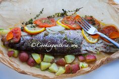 Cooking with Ria: Caribbean-Style Fish in Parchment Paper