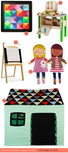 Creature Comforts Holiday Gift Guide. My dolls are in good company. Thanks @Ez Pudewa
