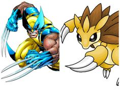 If Marvel characters were Pokemon