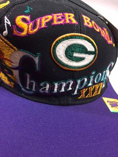 Green Bay Packers Super Bowl XXXI Champions Snapback Hat ac339a15b353